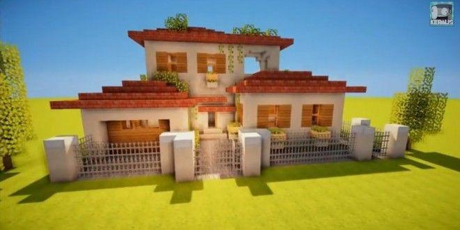 How To Make an Italian Villa   Minecraft Building Inc