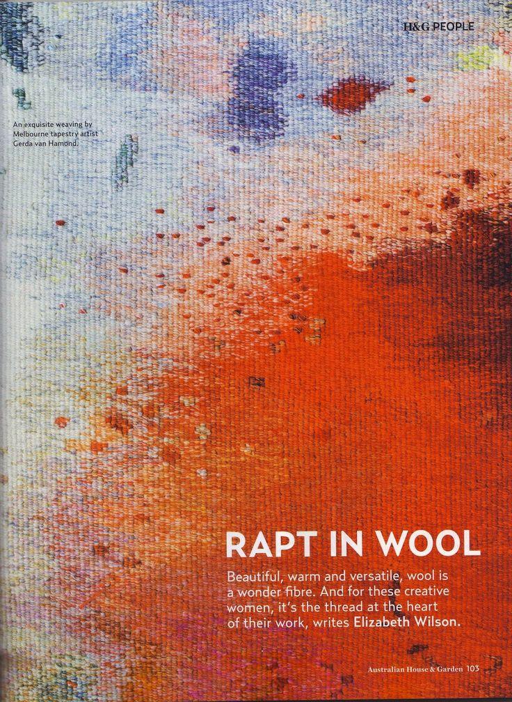 Gerda van Hamond is a contemporary artist and tapestry weaver.