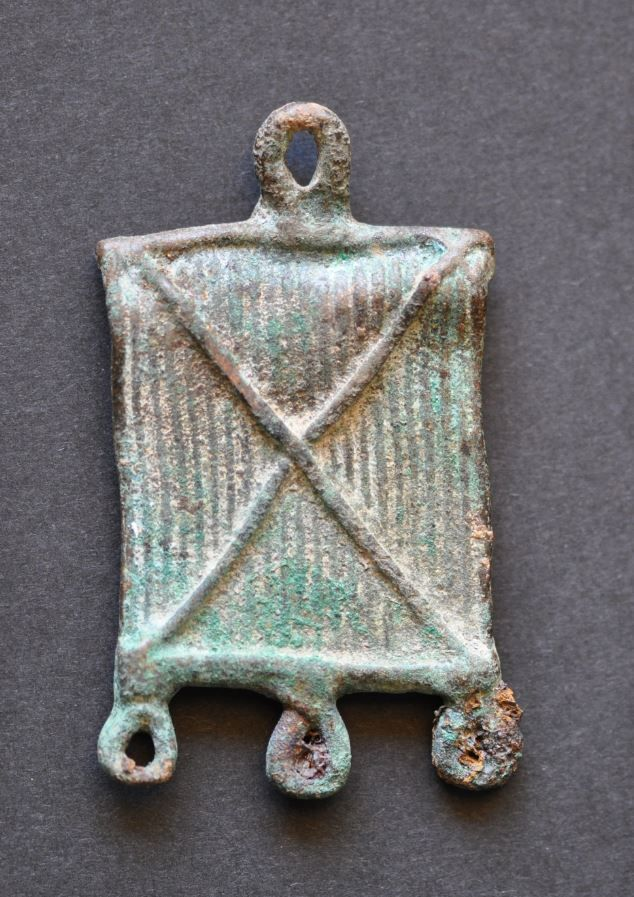 Amlash bronze pendant 4, 1st millenium B.C. Private collection