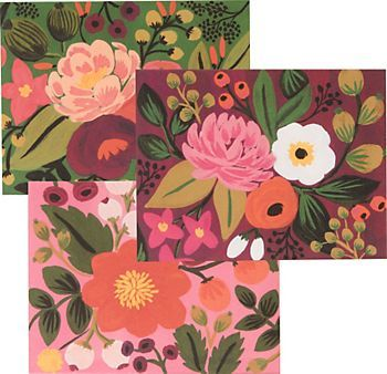 Rifle Bright Floral Assorted Correspondence Set