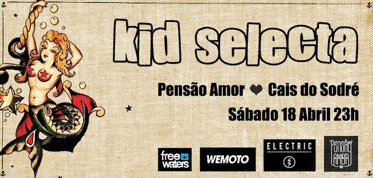Arriving in Portugal ❀ #saturday #dj #party #pensãoamor #lisbon free entry  Kid Selecta ( Electric / Wemoto Clothing / Freewaters Europe )