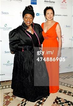 Ms. Jessye Norman and Virginia Johnson Photo: Getty Images