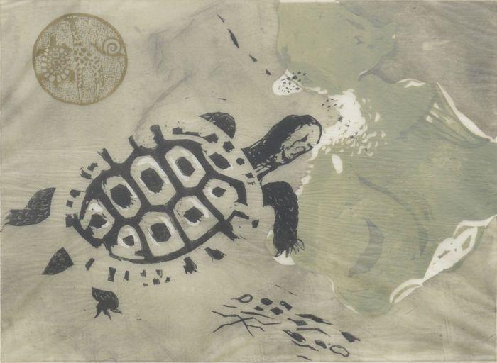 Nu in de #Catawiki veilingen: Otto B. de Kat (1907-1995) - Schildpadden