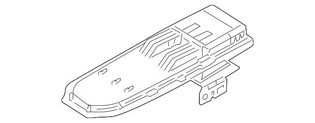 3L5Z10047A20AAB - Hinge Plate - 2009 Ford Ranger - GenuineFordOEM Parts