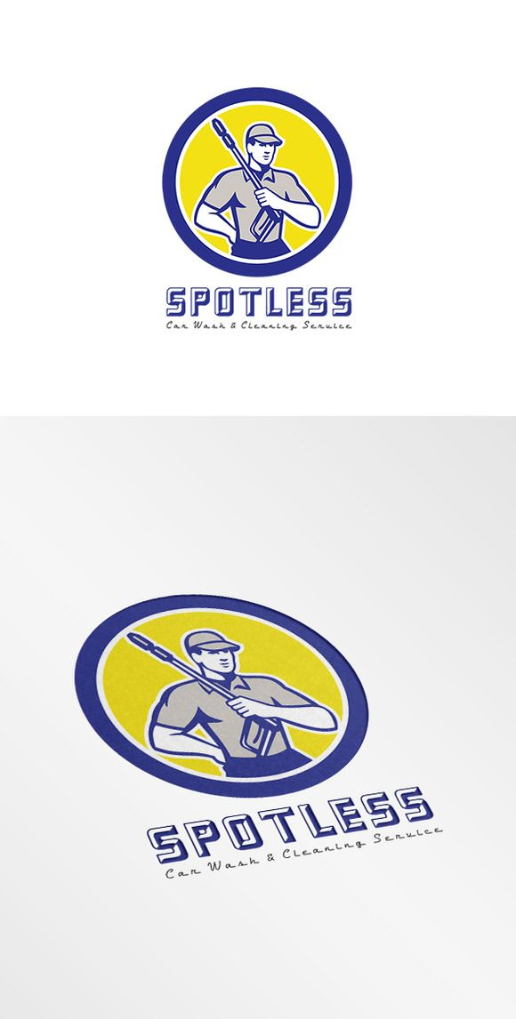 Check out Spotless Pressure Wash and Cleaning by patrimonio on Creative Market