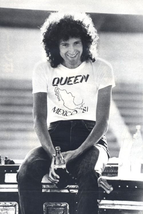 Brian May in South America