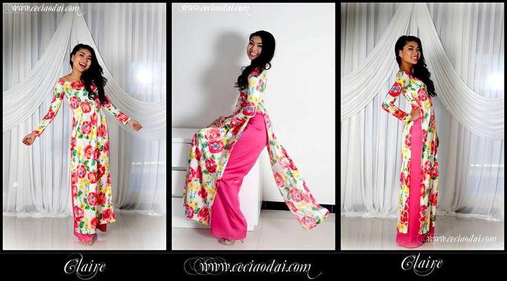 www.ceciaodai.com  Claire dress