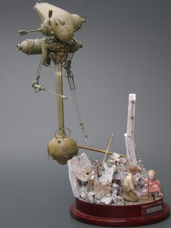 """Jeux interdits"" by nbagi. Neuspotter. #Ma_K #Maschinen_Krieger #diorama…"
