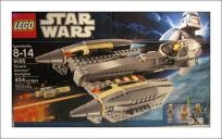 LEGO Star Wars Sets: Clone Wars 8095 General Grievous Starfighter NEW