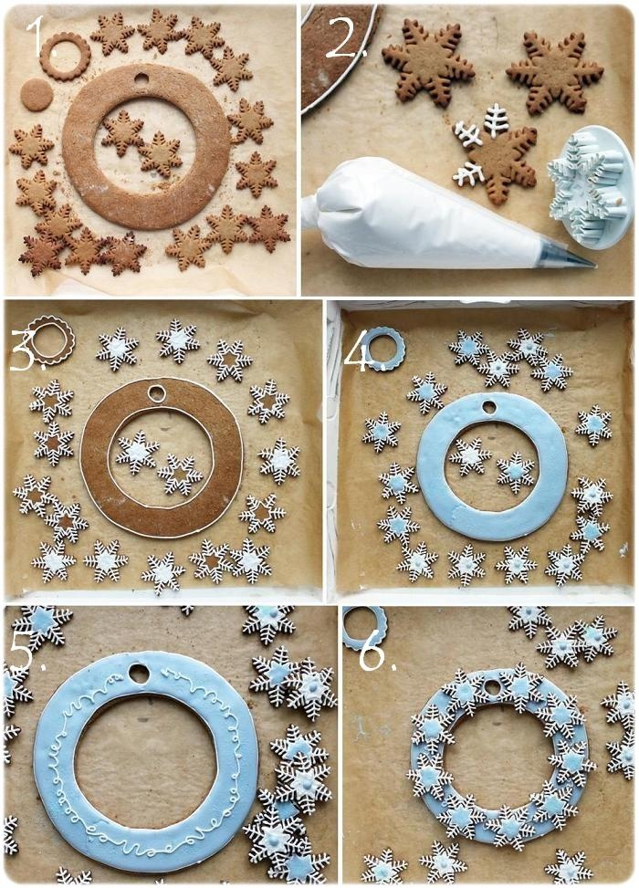 cookie wreath
