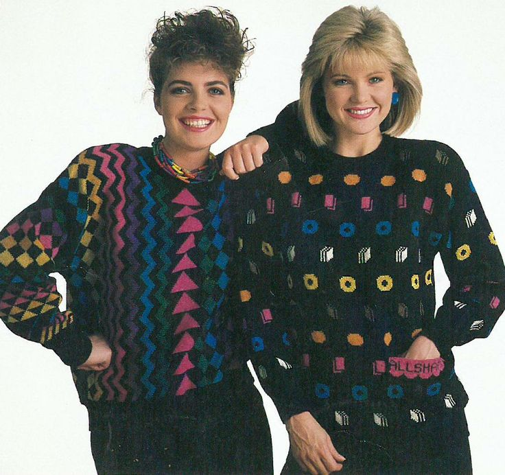 Tulchan Liquorice Allsorts jumper from the 1980s