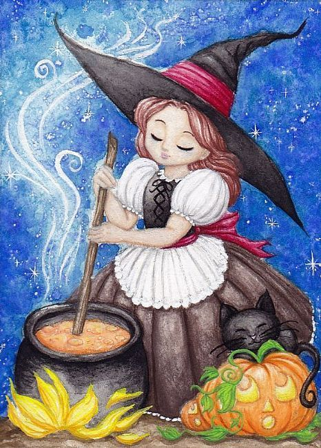 Making Pumpkin Stew by Hiroko Reaney