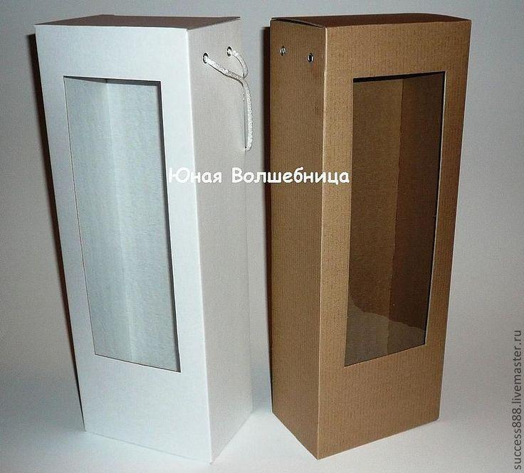 Купить Коробка для кукол и мягких игрушек - оригинальная упаковка - белый, бурый, бело-бурый