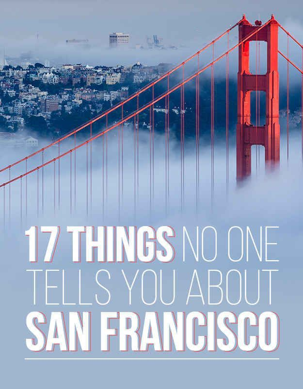 17 Things No One Tells You About San Francisco #Summer #Travel Staycation Ideas