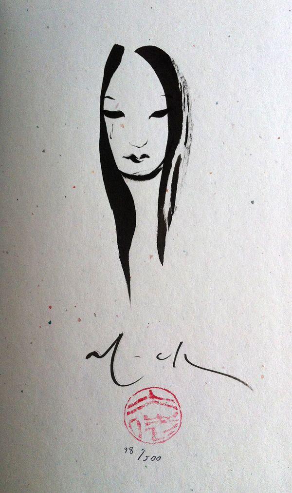 Kabuki: Circle of Blood 2011 Hardcover -Remark by David Mack