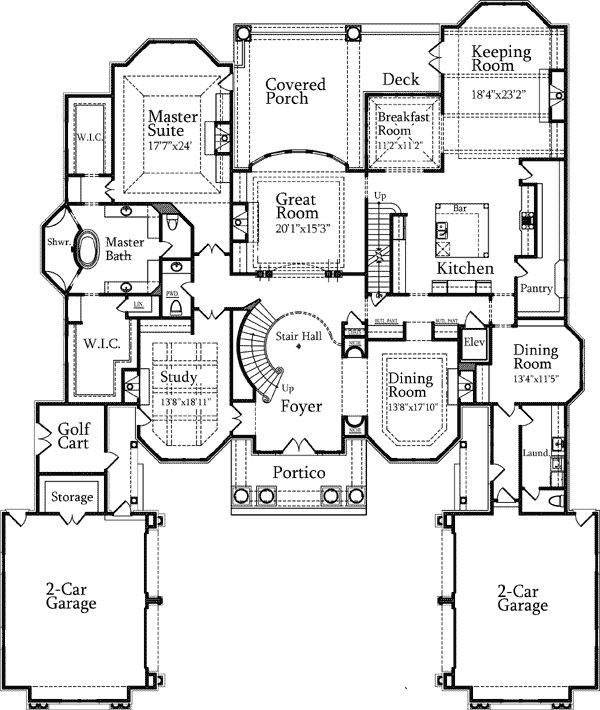 385 best images about home building ideas on pinterest for Mansion house plans with elevators