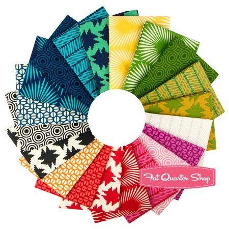 Heather Bailey True Colors Fat Quarter Bundle Heather Bailey for Free Spirit Fabrics   Fat Quarter Shop:: I have serious love for this!