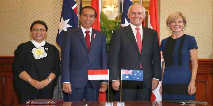 "Top News: ""AUSTRALIA POLITICS: Turnbull, Joko Widodo Restore Full Military Ties"" - http://politicoscope.com/wp-content/uploads/2017/02/Indonesian-President-Joko-Widodo-AND-Malcolm-Turnbull-Australia-and-Indonesia-Headline-News.jpg - ""President Widodo and I have agreed to full restoration of defence cooperation, training exchanges and activities,"" Prime Minister Malcolm Turnbull said.  on World Political News - http://politicoscope.com/2017/02/26/australia-politics-turnbul"