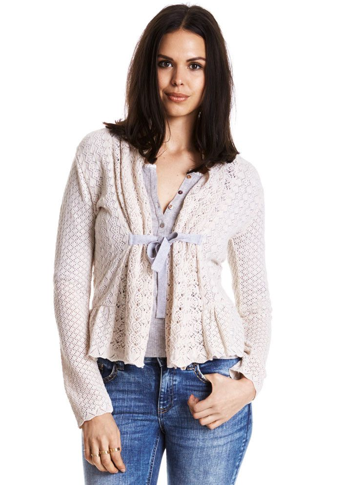 Odd Molly Can-Can Cardigan 615M-337 porcelain – acorns