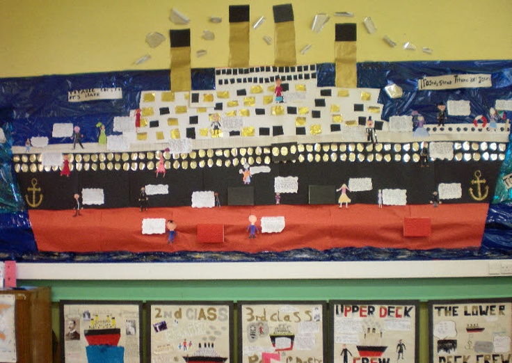 Titanic Disaster classroom display photo - Photo gallery - SparkleBox