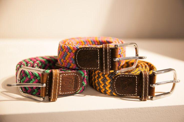 Les ceintures tressées de Billy Belt #ceinture #homme #men #fashion #billybelt #commeuncamion