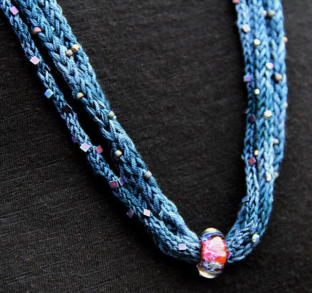 French Knitting Patterns : 546 best French Knitting Jewelry images on Pinterest Crochet jewellery, Jew...