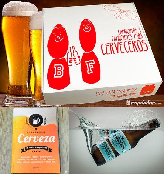 manualidad para regalar a hombres amantes de la cerveza instrucciones http