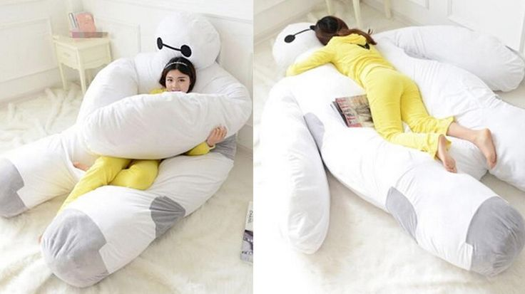 """A creepy 7'5"""" Baymax sofa bed can be yours today if you want it badly enough."""