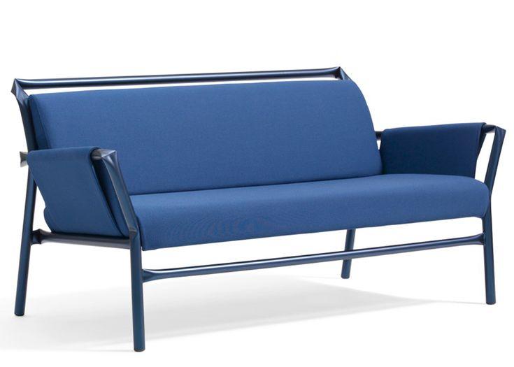 Berlin design studio Osko+Deichmann has extended its range of kinked tubular steel chairs for Swedish brand Blå Station
