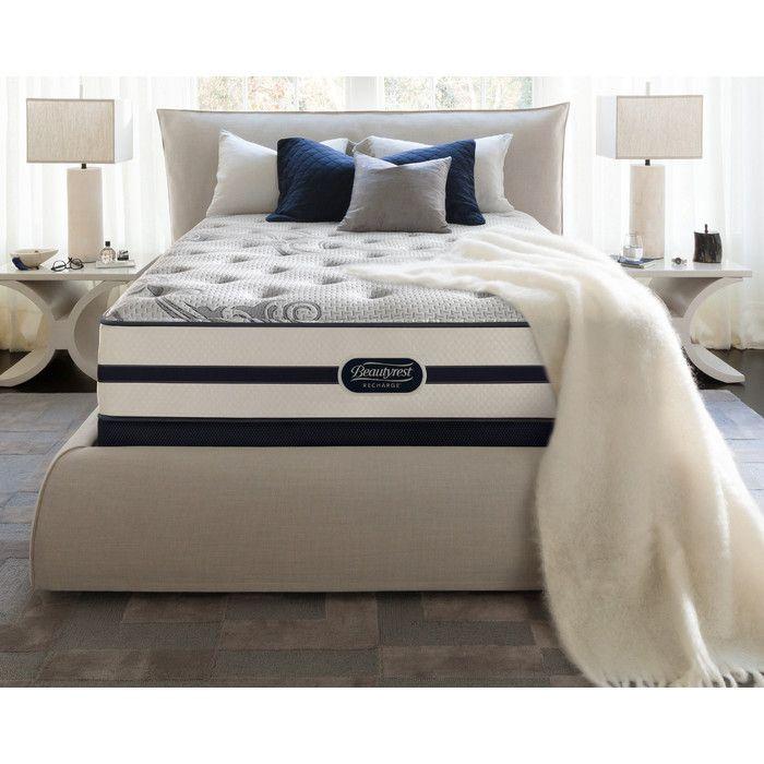 simmons beautyrest beautyrest recharge glimmer firm mattress u0026 reviews wayfair