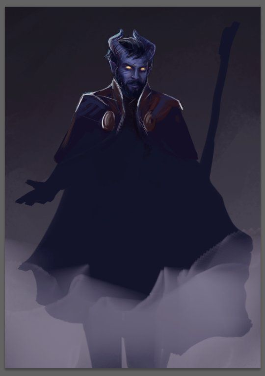 Image Result For Blue Skinned Tiefling Dnd Fantasy Characters