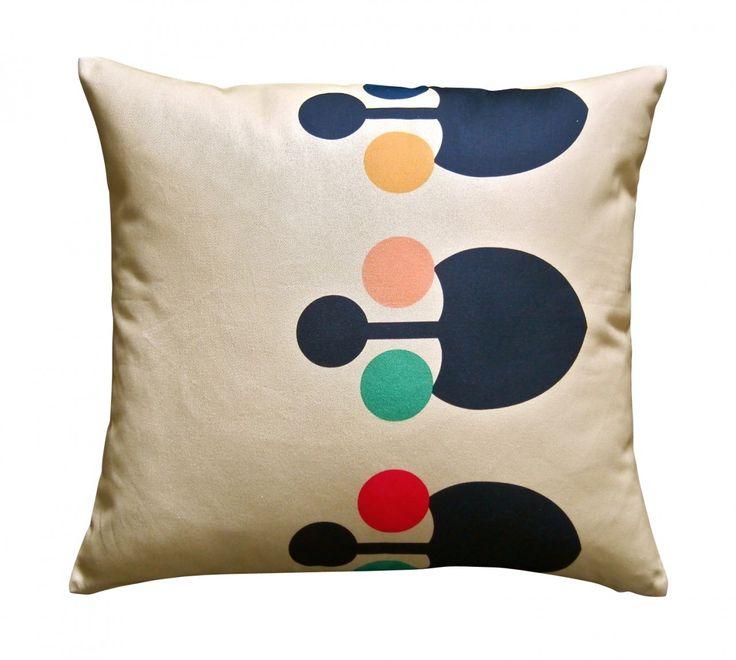 Babcha Luxe ikka Cushion - Yellow - hardtofind.