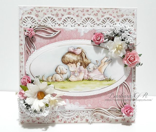 Cards by Barbara: Surrounded By Love... Noor! Design U.K.
