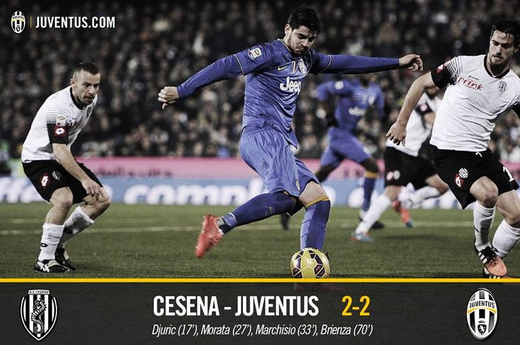 Cesena 2-2 Juventus