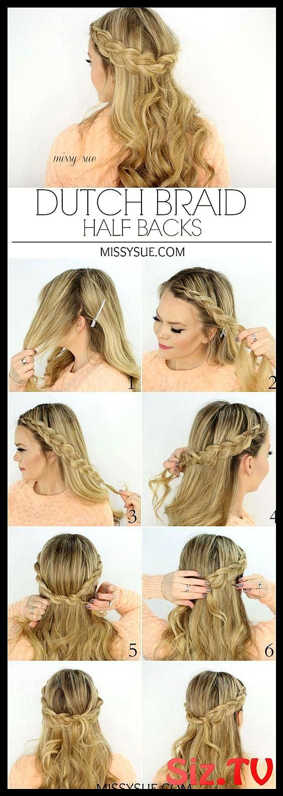 Check Out Our Collection Of Easy Hairstyles Step By Step Diy You Will Get Hairstyles Step By Step Tutorials Easy Hairstyles Quick Lazy Girl Hair Hac C...