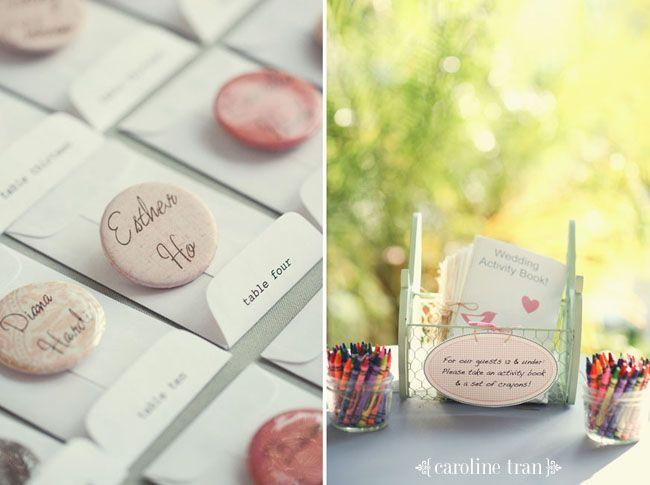 Wedding Activity book = excellent idea