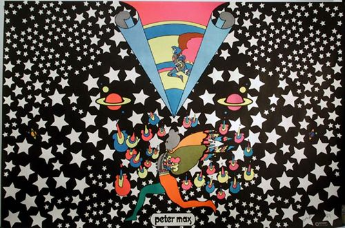Peter Max, my favorite artist in 1971.