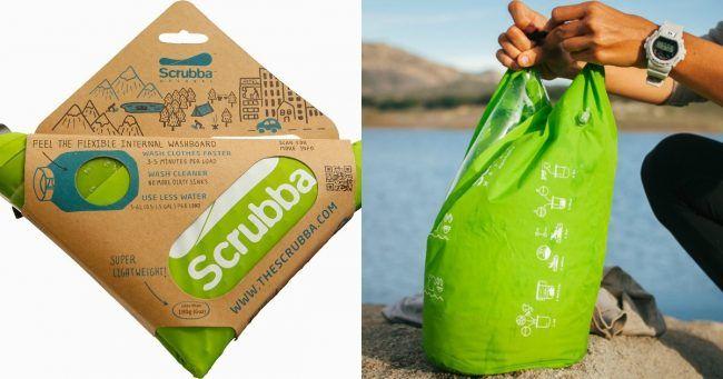 [TOPITRUC] Un sac de lavage pour pouvoir laver ses vêtements partout en voyage