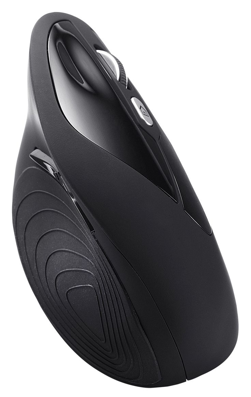 Perixx PERIMICE-715, Wireless Ergonomic Vertical Mouse - 2.4 G - 1600 dpi - Right handed - Natural Ergonomic Vertical Design