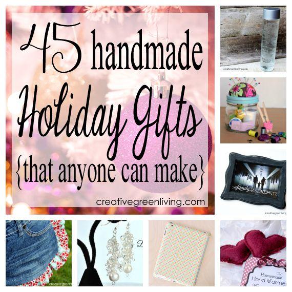 45 Handmade Christmas Presents for Mom - Gifts Anyone Can Make! ~ Creative Green Living