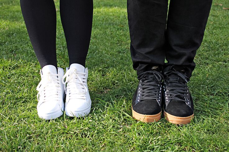 His and Hers Cruz High Tops! Personalise them any way you want. // ELECT Footwear - Our Shoes // #electfootwear #custom #sneakers #fashion #style