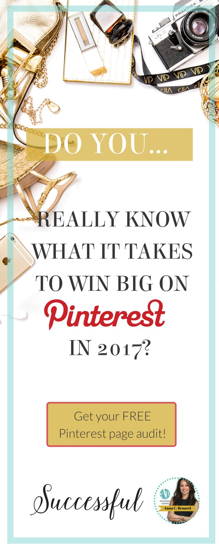 Download Pinterest Strategy Free Template | Click here to find out how to get your FREE Pinterest Marketing Audit from Pinterest Expert Anna Bennett https://www.whiteglovesocialmedia.com/pinterest-consultant