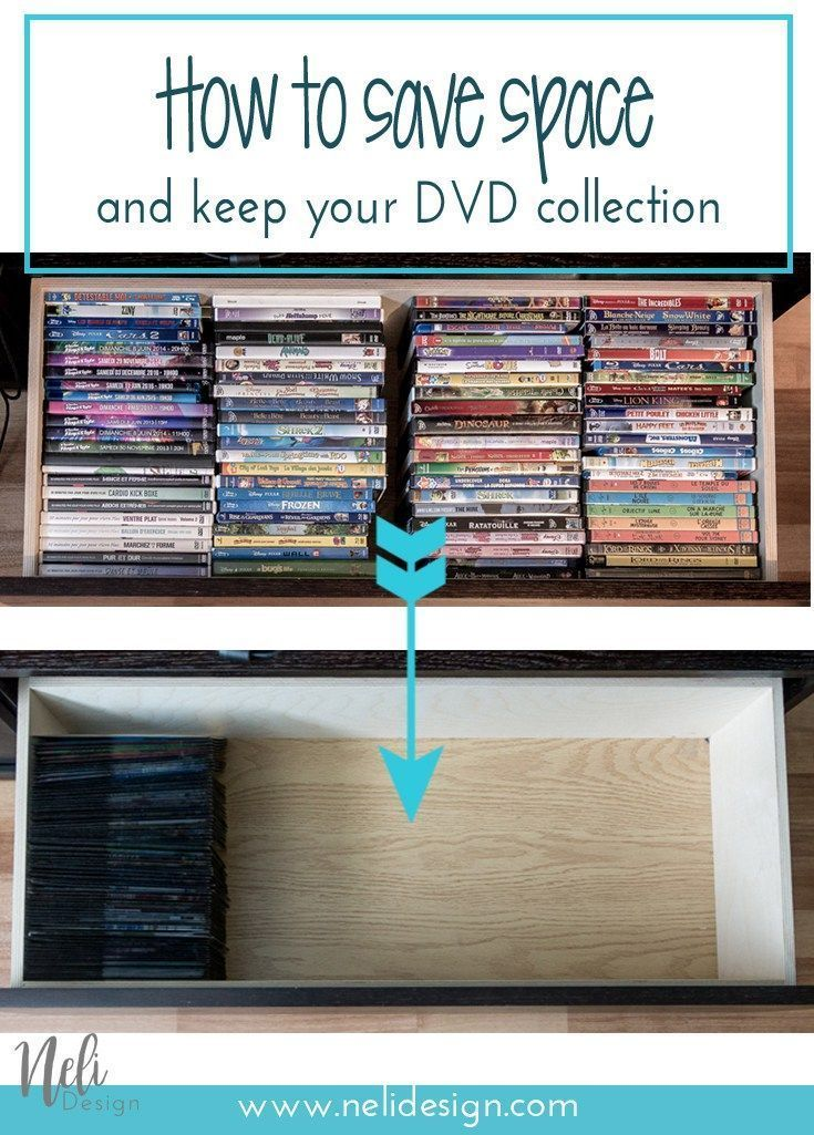 The Best Dvd Organization Solution To Save Space In 2020 Dvd
