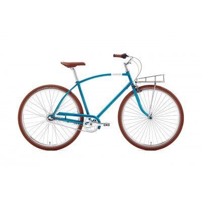 """Rower Miejski Damski Creme Glider 3S 28"""". Nowoczesny design, doskonała jakość wykonania w najlepszej cenie. http://damelo.pl/rowery-miejskie-dla-twojego-mezczyzny/534-rower-miejski-damski-creme-glider-flat-3s-28.html"""