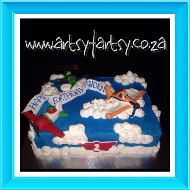 Disney's Planes Cake #disneysplanescake