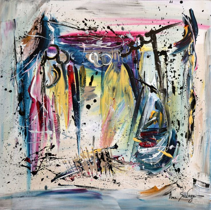Famous 57 best Peinture abstraite images on Pinterest SM61