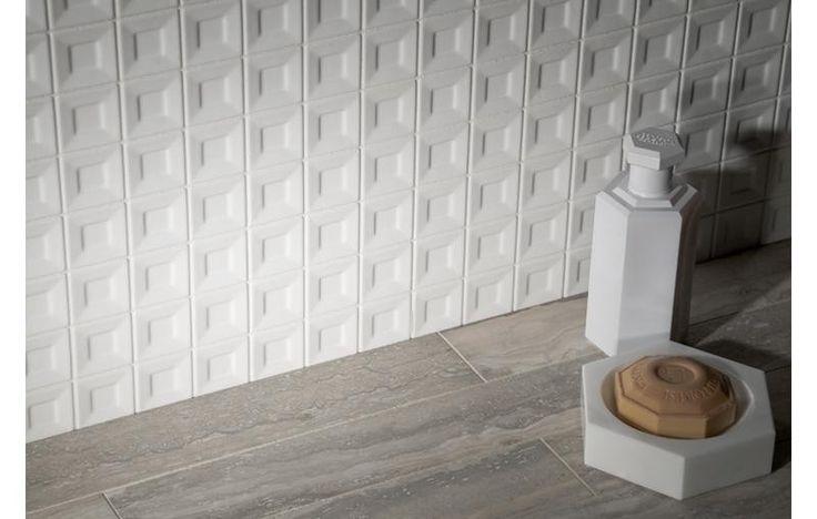 60 best images about tile dimensional on pinterest for Dimensional tile backsplash