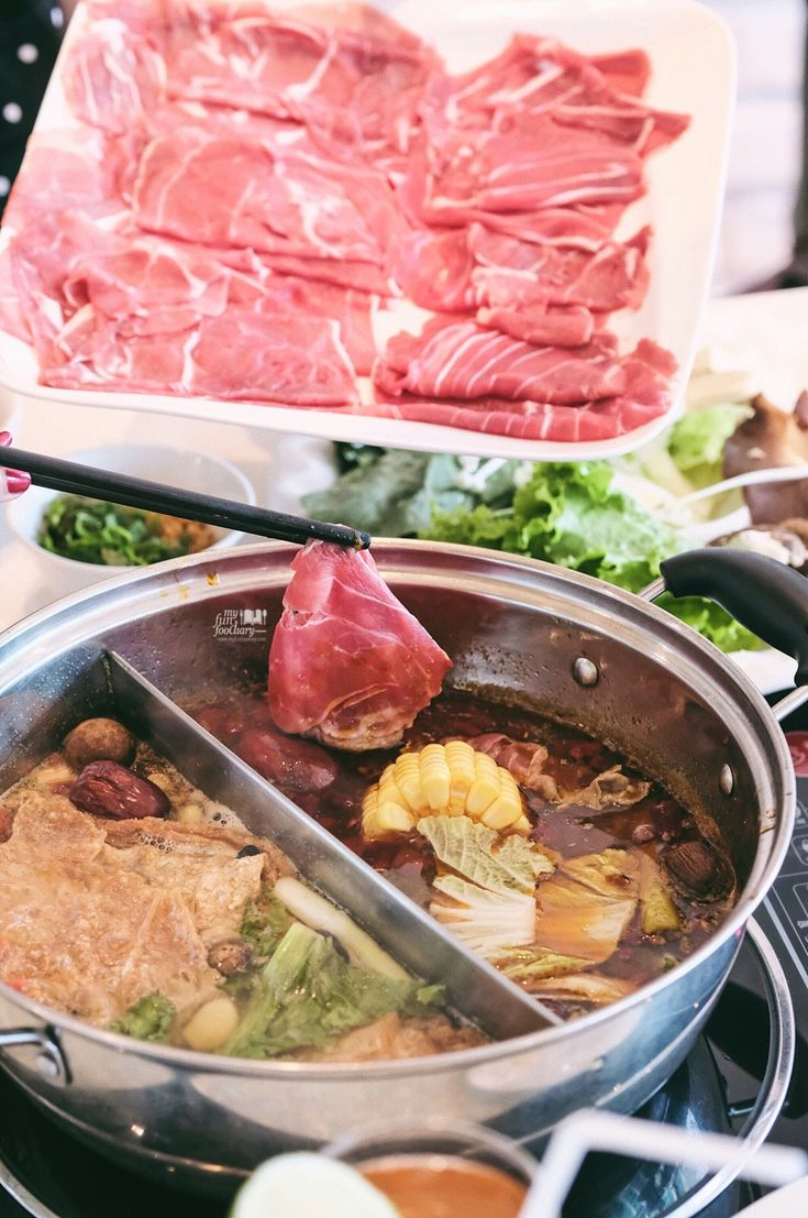 This was a solid and most flavorful experience of Mongolian hot pot with delicious cuts of Australian Lamb and Beef at Little Sheep Shabu Shabu we can't forget! The lamb here is top quality, and the broth was so good!