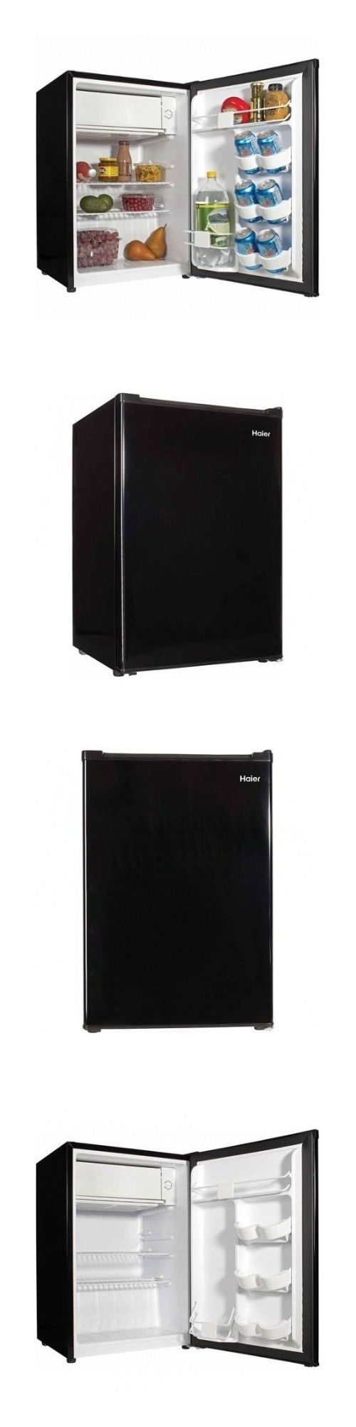 Mini Fridges 71262: Compact Dorm Fridge Freezer Black Mini Refrigerator Home Office Den Beer Cooler -> BUY IT NOW ONLY: $102.95 on eBay!