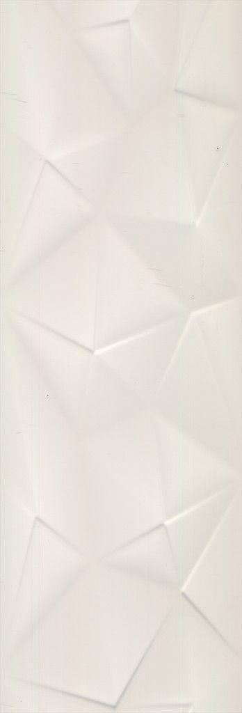 Pure Fold White Matt Structured Beaumont Tiles